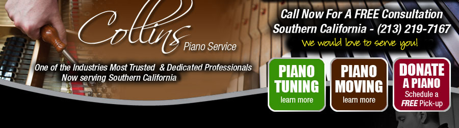 Boston and Los Angeles Piano Service and Tuning